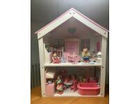 Rose bud dolls house ELC
