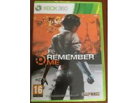 Remember me,Xbox 360 game