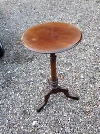 Mahogany occasional table