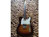 Telecaster with gig bag