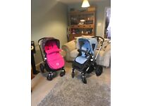 2x bugaboo cameleon 3 pushchairs for sale