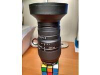 Sigma 70 -300mm Lens For Pentax K Fitting - PK Fitting