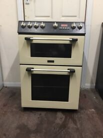 Cannon electric cooker 60cm ceramic cream double oven 3 months warranty free local delivery!!!!