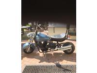 Small motorbike chopper style off road