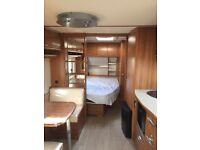 Tourer caravan for sale, inside like new sleeps 6