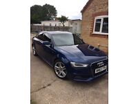 2013 63reg Audi A4 2,0 TDI S sline, 103k fash, half leater,cd,alloys,cd,ac, tinted glass, as new