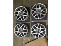 "16"" BBS Montreal 5x100 VW Alloy wheels"