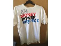 Floyd Mayweather Jr hand signed T SHIRT with COA