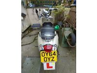SYM Allo 125 motorbike