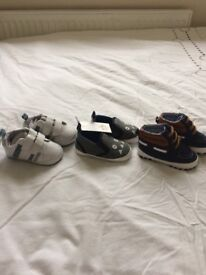 Baby boys shoes age 9-12 months