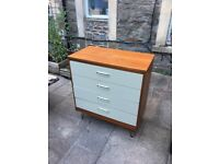 Danish Retro Teak Chest of Drawers