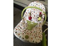 Mamas and Papas Vibrating Rocker Chair Bouncer