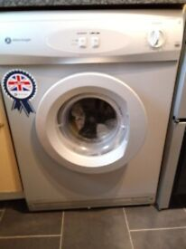 White knight sliver tumble dryer