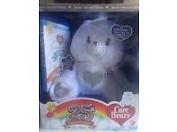25th Anniversary Swarovski Crystal TenderHeart Care Bear & DVD