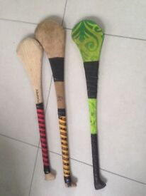 Hurling stick £15 each - 3 for sale