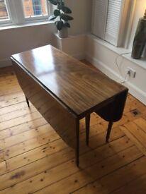 Vintage table mahogany drop leaf