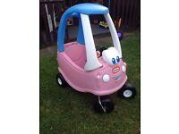 Little Tikes Princess pink cozy car
