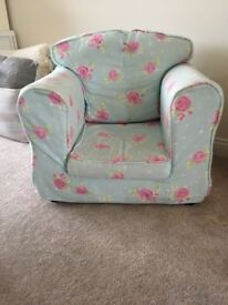 Kid's Armchair with removable and washable covers, cost £130 new