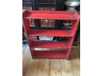 Vintage painted pine shelves 28x 24 x 6 inches