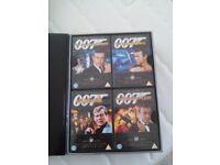 JAMES BOND DVDs boxed set
