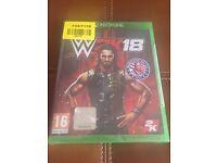 WWE 2K18 XBOX ONE GAME BRAND NEW SEALED