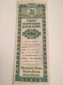 American Mortage Note