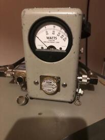 Bird 43 wattmeter PEP
