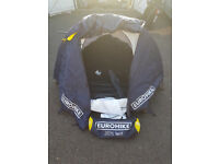 Used twice Blue Eurohike 210TS Two Man Tent