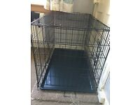"Large 36"" dog crate ex con"