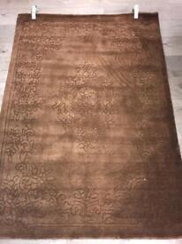 100% wool brand new rug 1.20 x 1.70