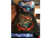 World of mystic wizards pinball machine