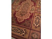 Vintage Rug with Ornament