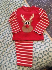 Boys Christmas PJ'S 1.5-2 years (Mothercare)
