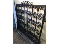 Driveway / garden wrought iron gates