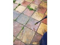Garden and Driveway cleaning services.