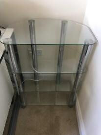 Glass Hi-Fi Shelf Unit