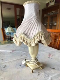Onyx Table lamp and shade