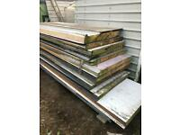 Composite roof sheets