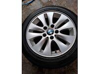 BMW set alloys 16