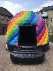 Bouncy castle, Disco dome and Hot tub hire £60