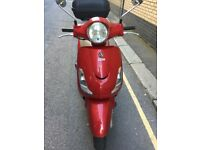 For Sale - 2011 Sym Fiddle 125cc - Red - £650