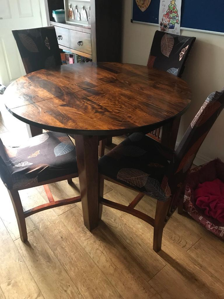 John Lewis extending dining table and 6 chairs   in ...