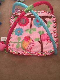 Bright start baby play mat