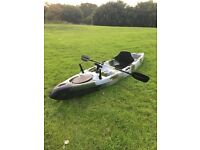 Camo 13ft fishing kayak