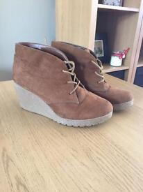Newlook size 5- wedged boots