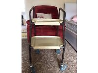 Disability wheeled trolley