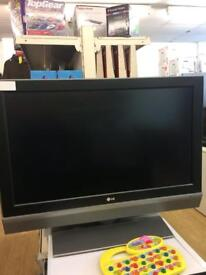 Lg 37inch flat screen tv with built in freeview !