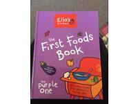 Ella's kitchen first food books