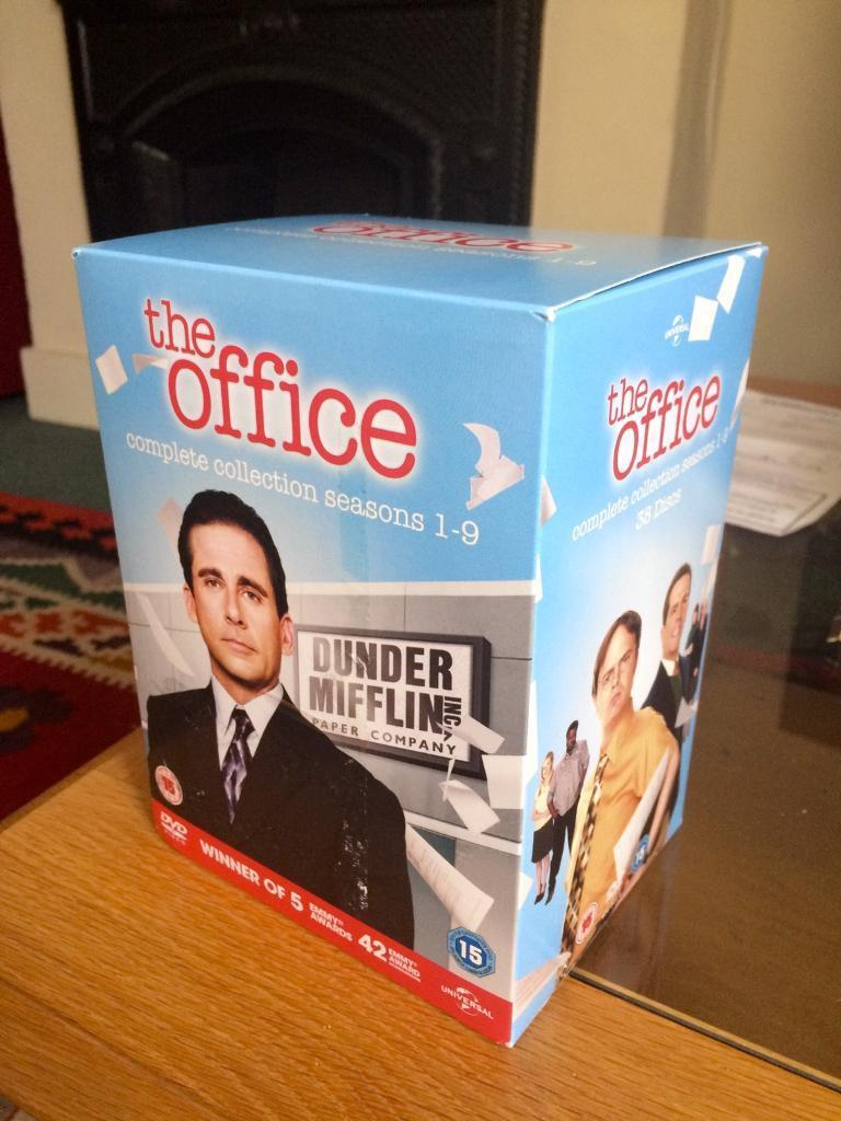The Office Complete Series 1 9 Dvd