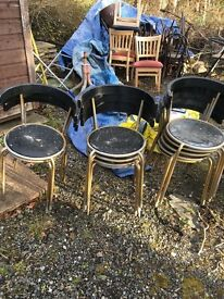 Chairs , Bar stools and garden tables for sale.